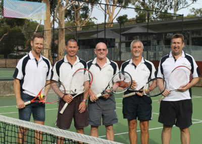 Div 5 Mens Only Premiers 2014/15